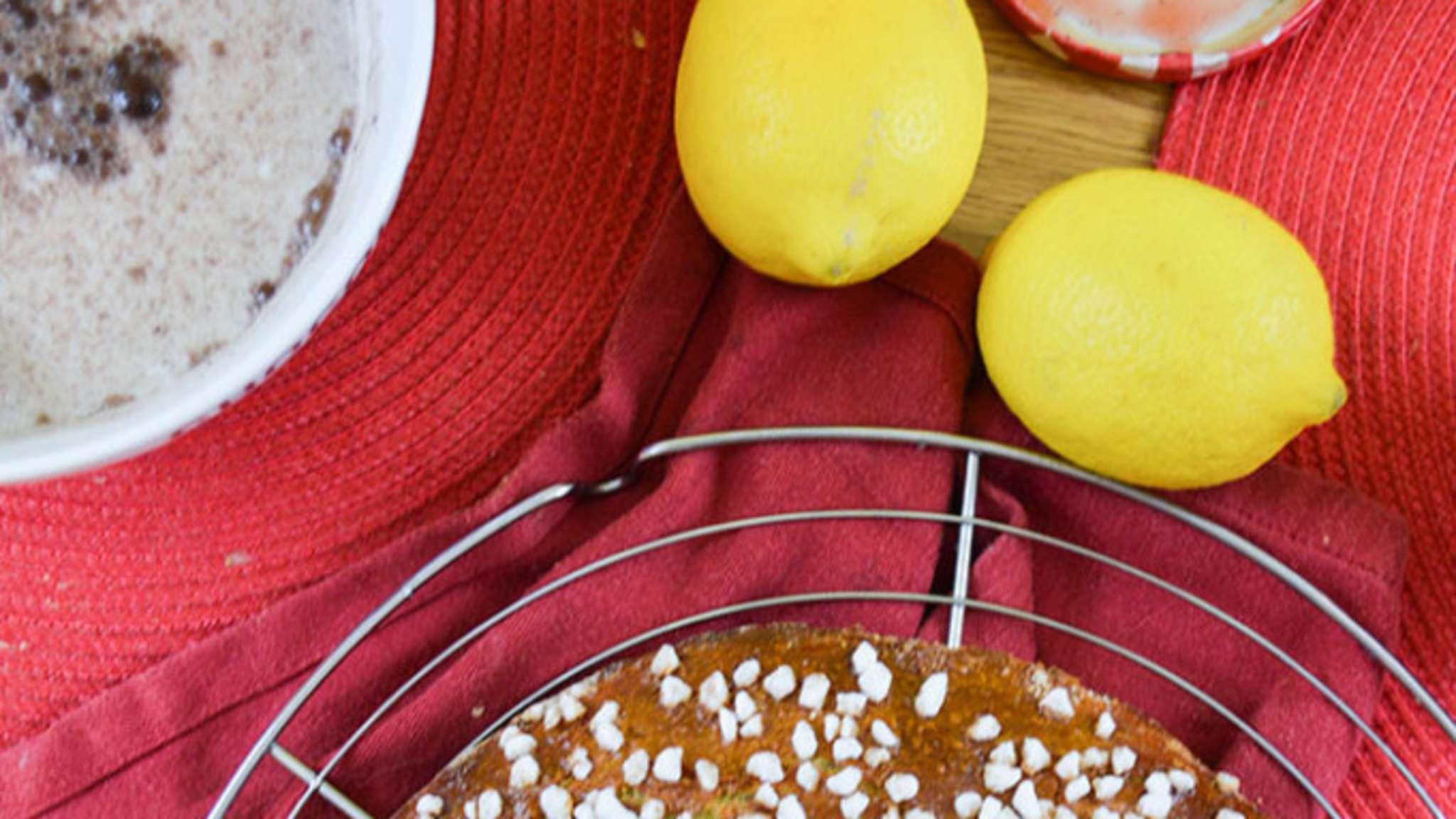 Couronne des rois briochée au citron