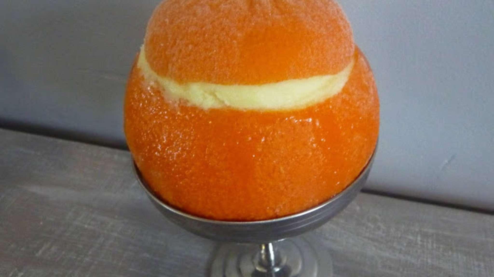 Oranges givrées