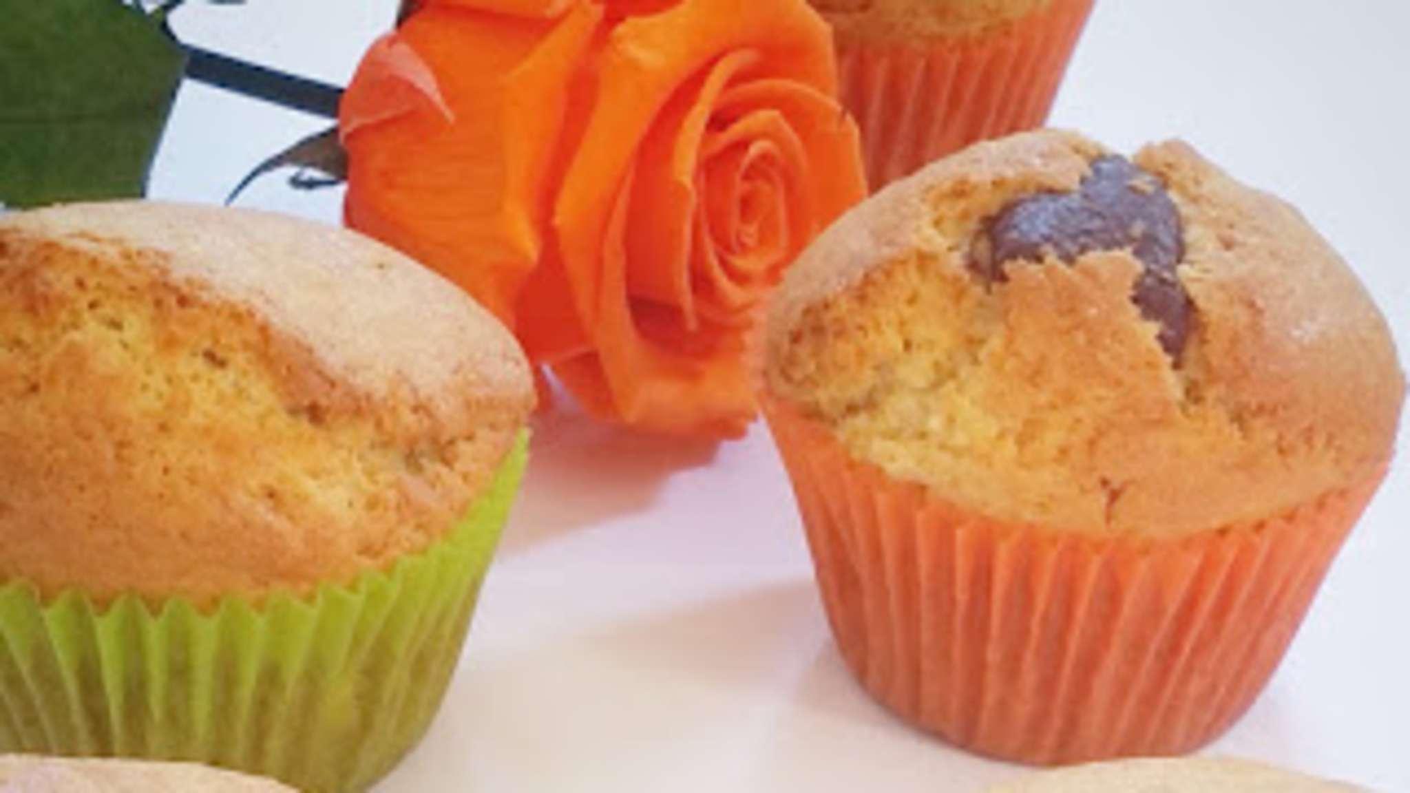 Muffin Nature au coeur Chocolat Lait ou Noir