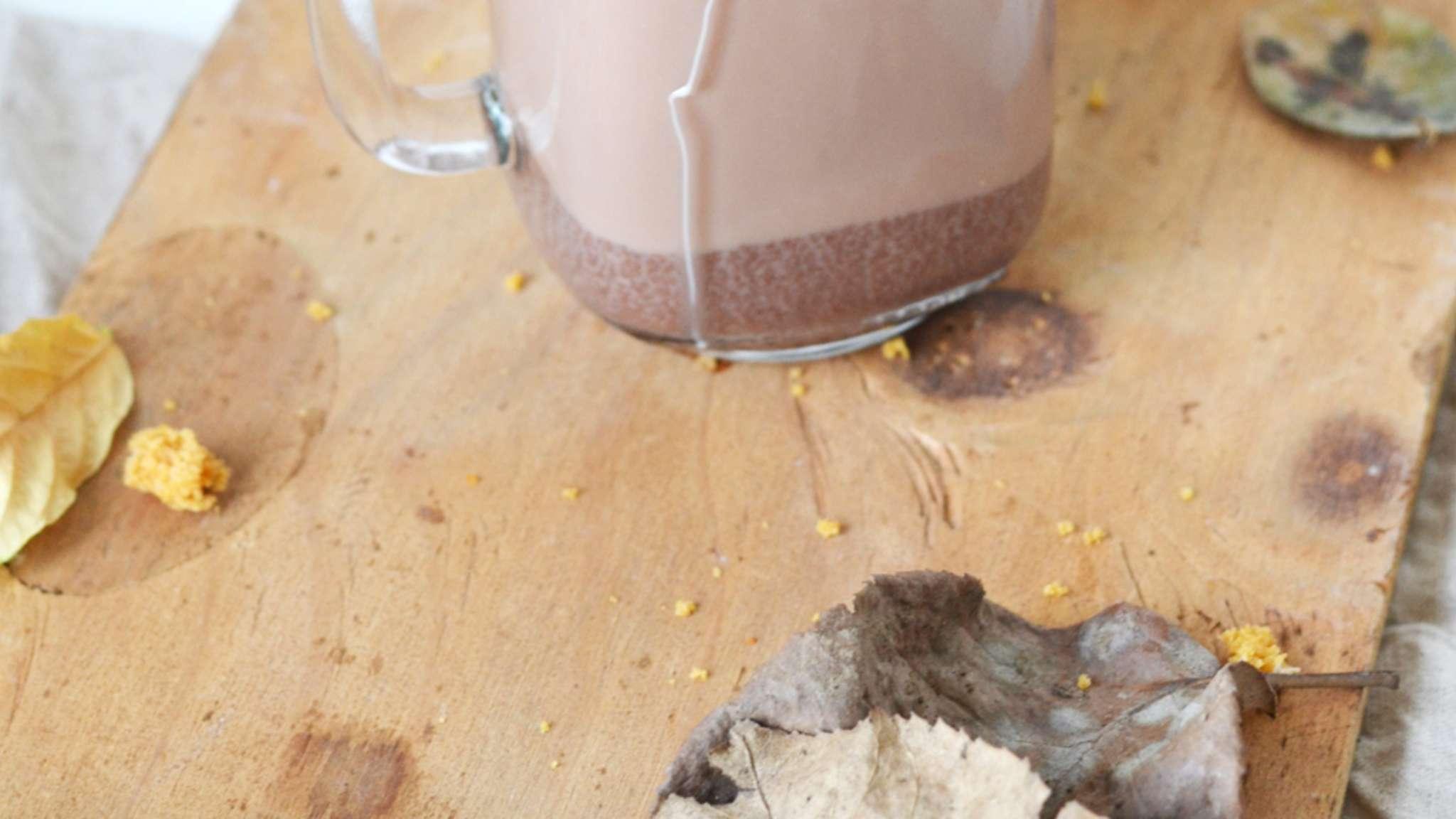 Chocolat chaud au pain d'épices
