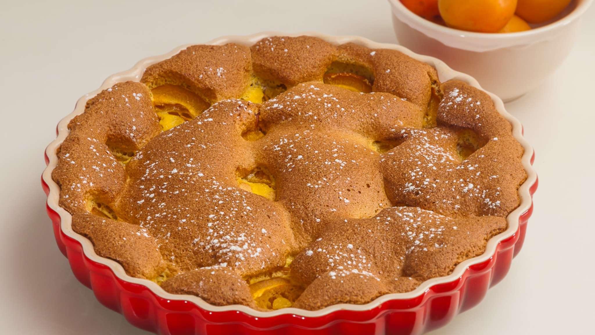 Gâteau léger aux abricots