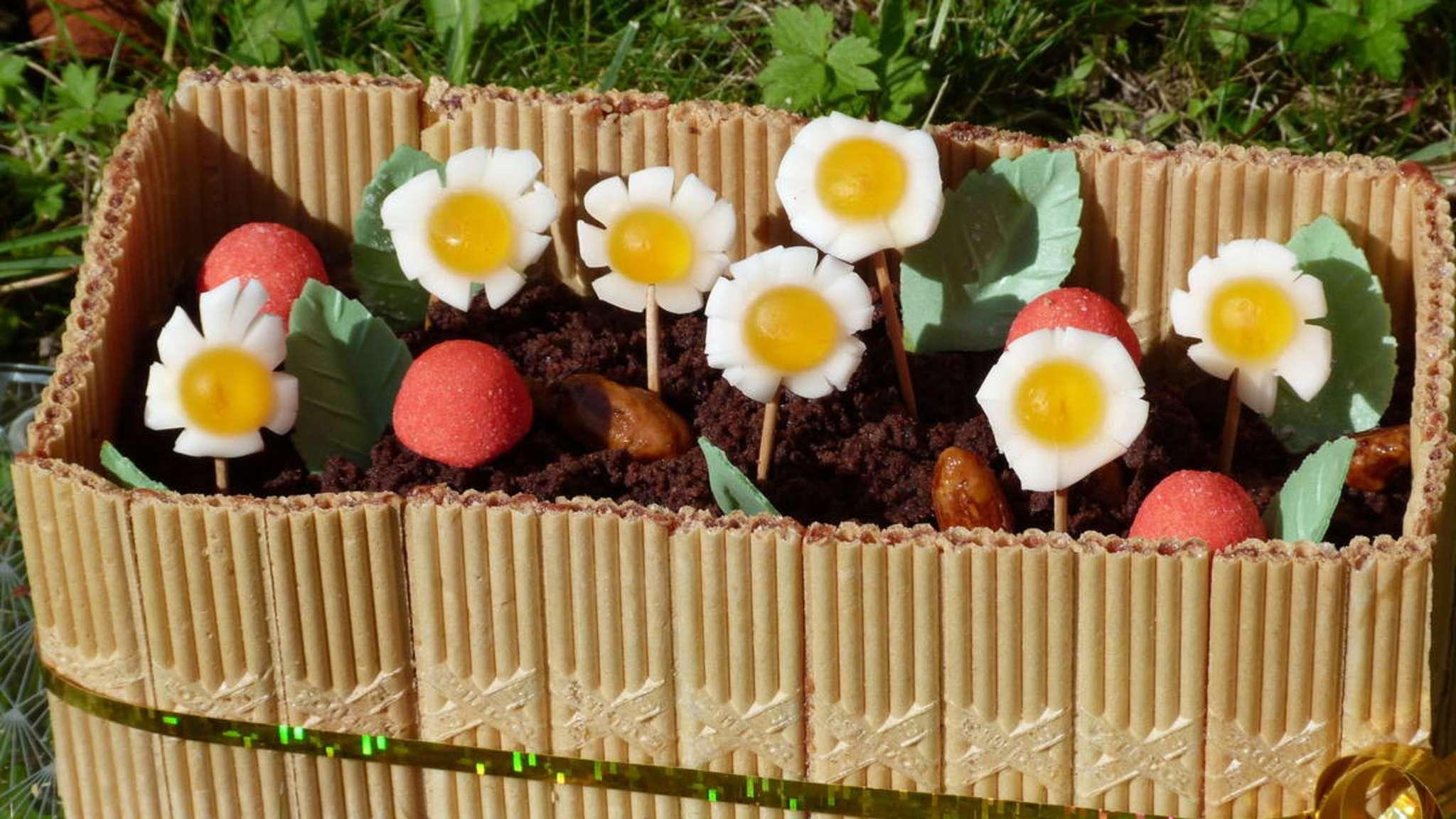 Jardinière de chocolat
