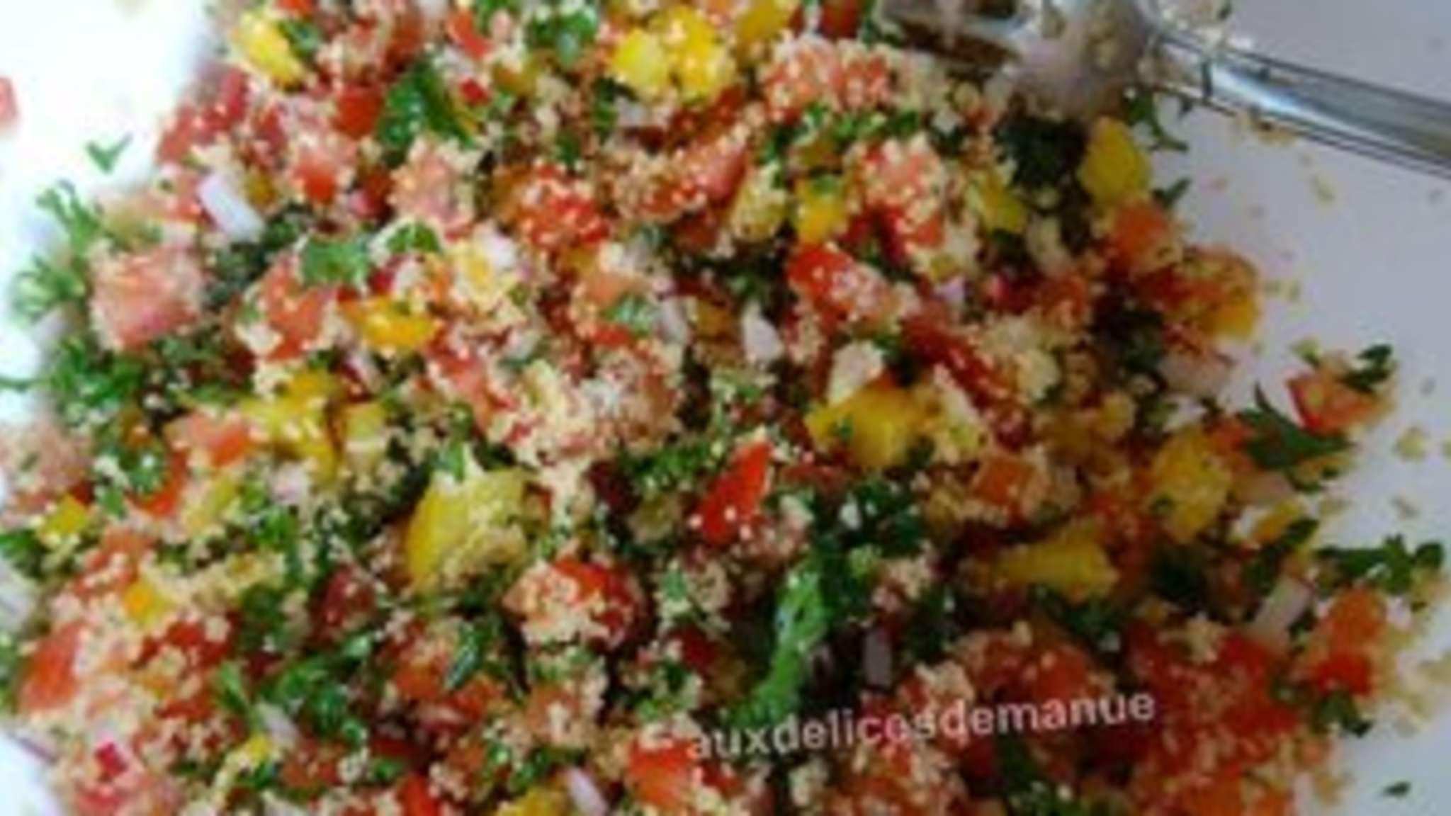 Taboulé aux légumes printaniers