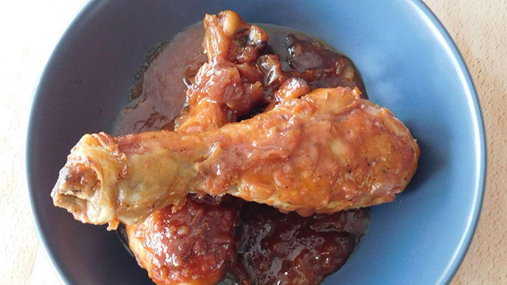 Pilons de poulet façon barbecue
