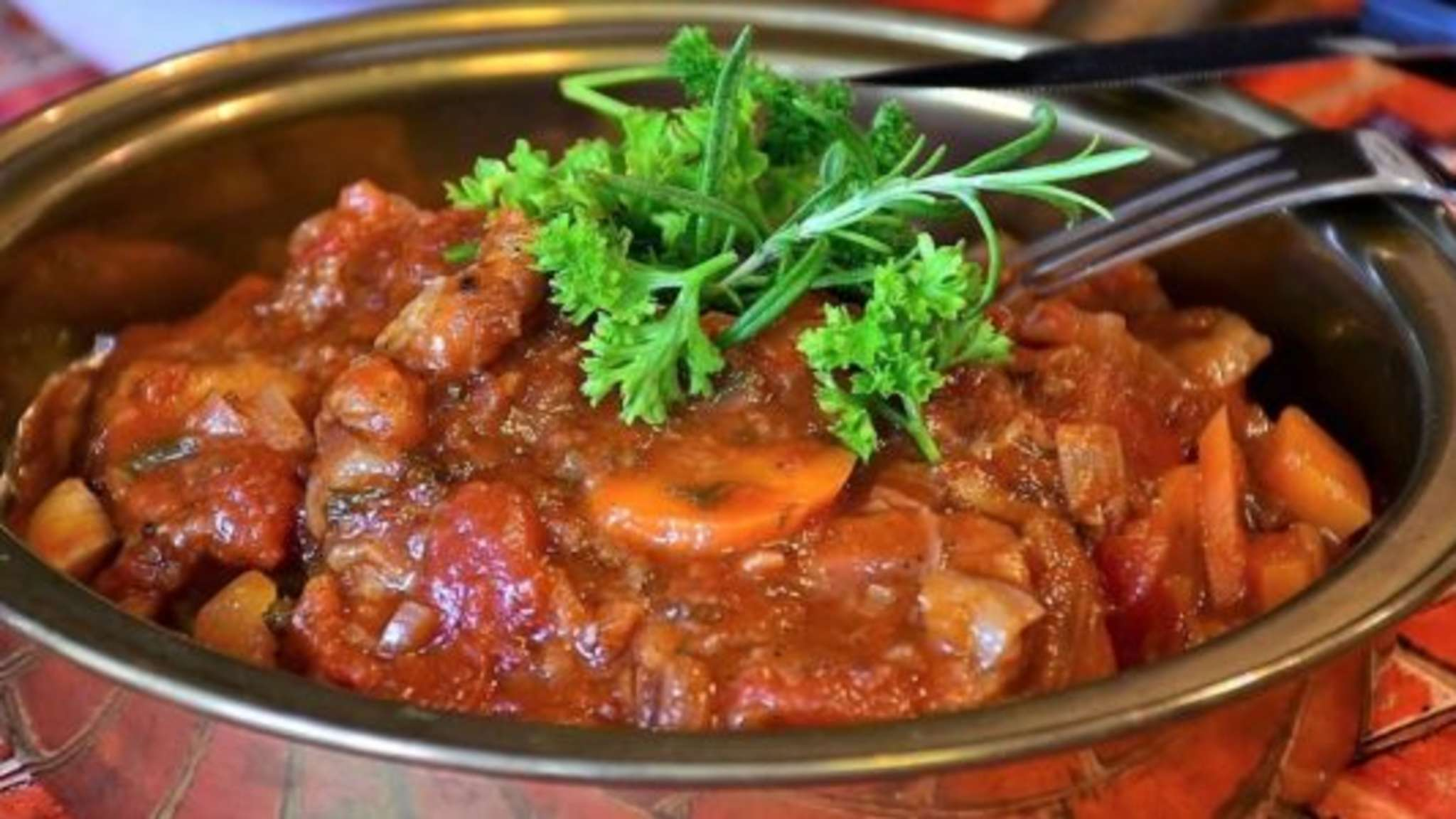 Osso buco traditionnel