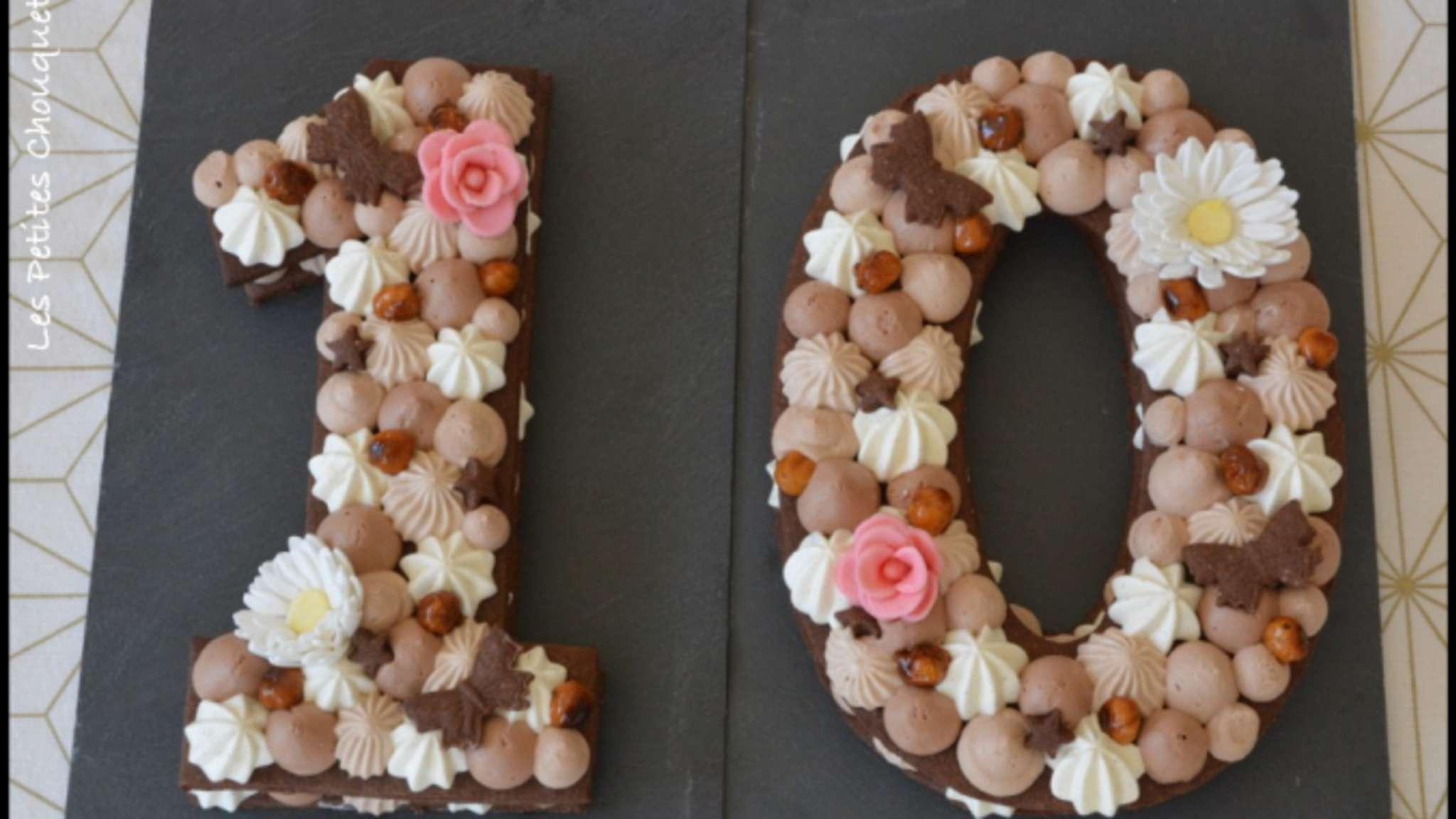 Number cake façon Fantastik