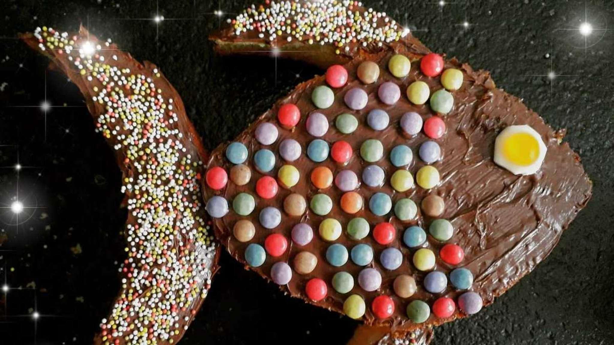 Gâteau poisson pour les petits