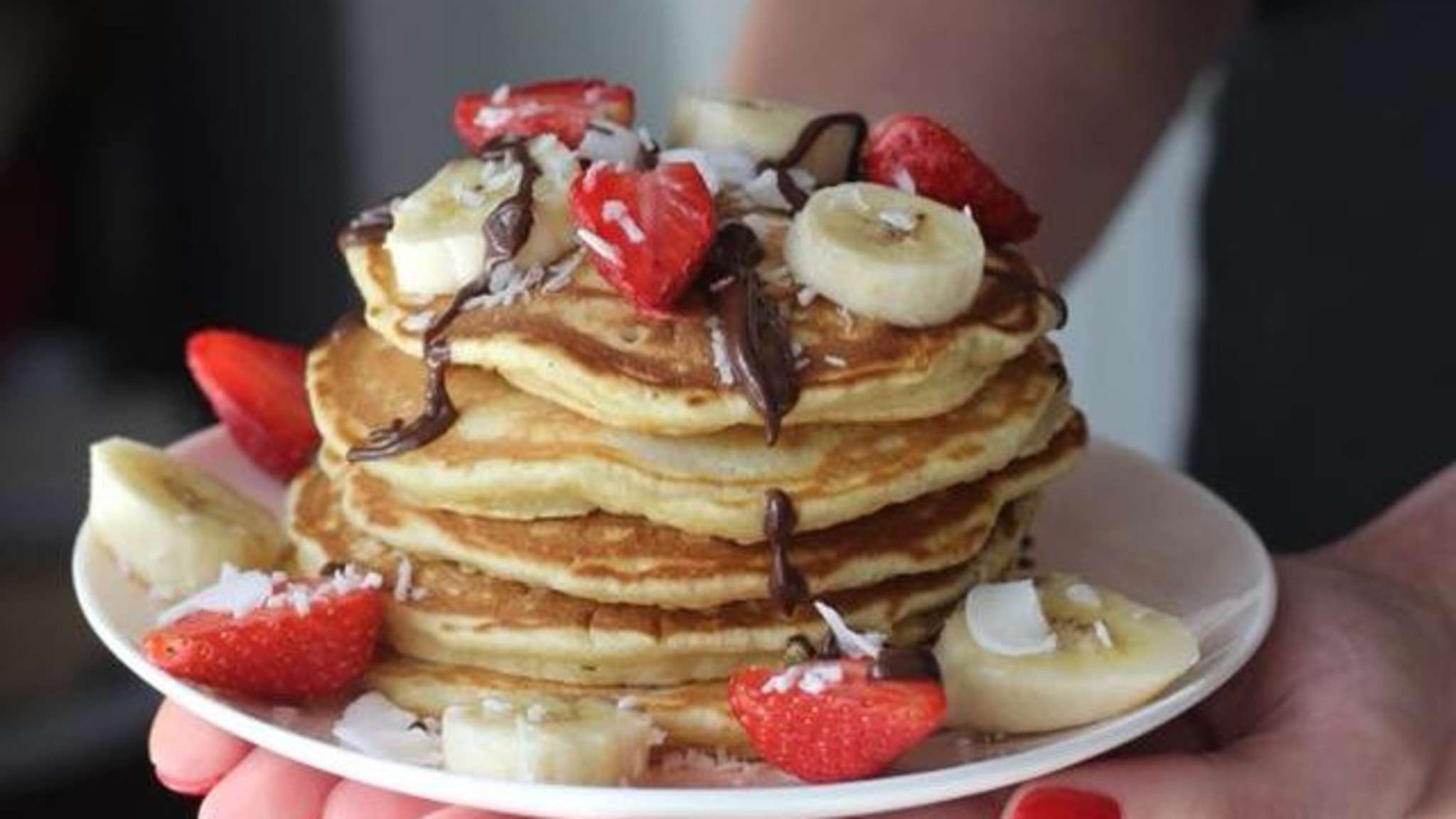 Pancakes super fluffy