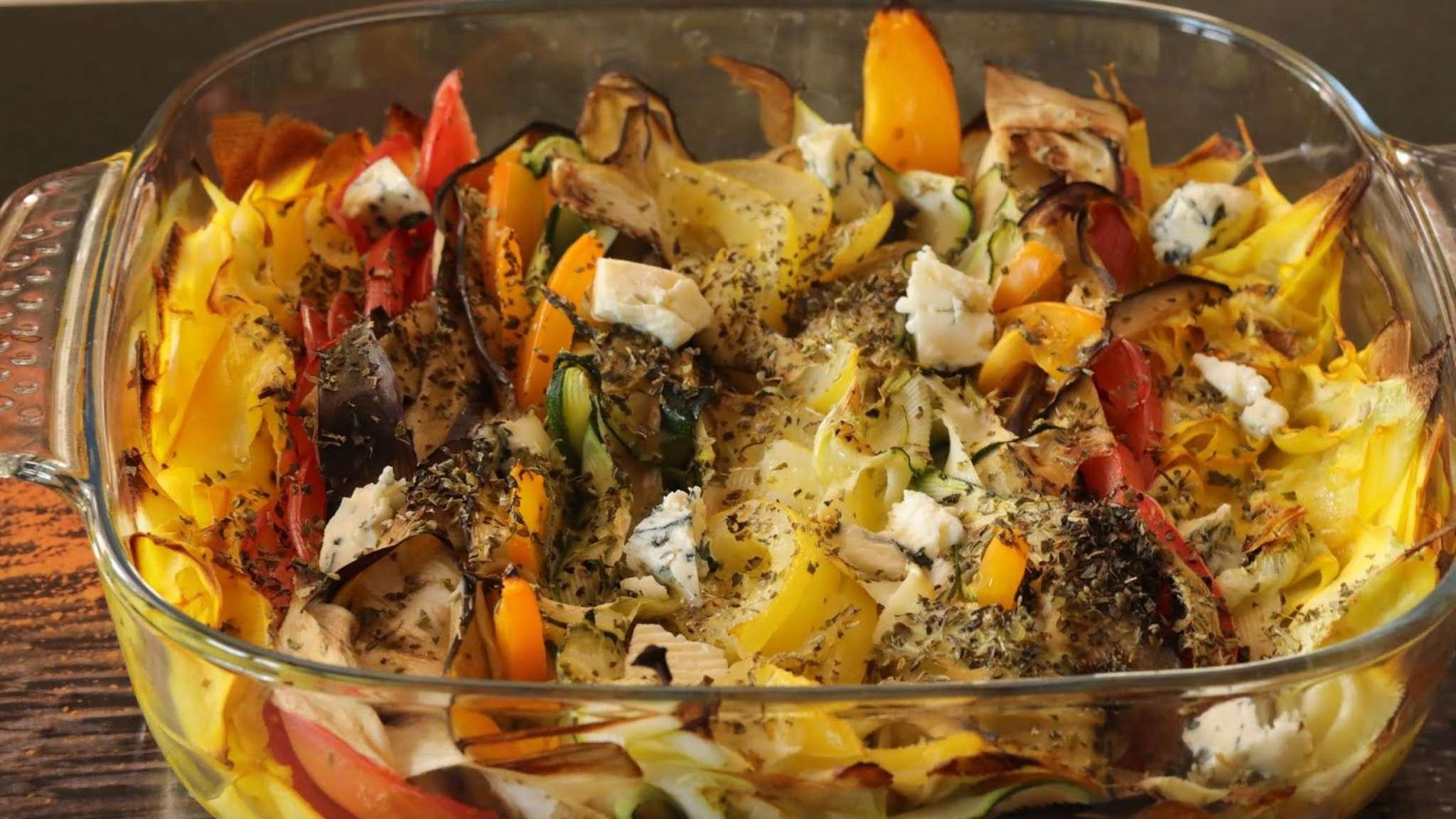 Tian de légumes au Saint Agur