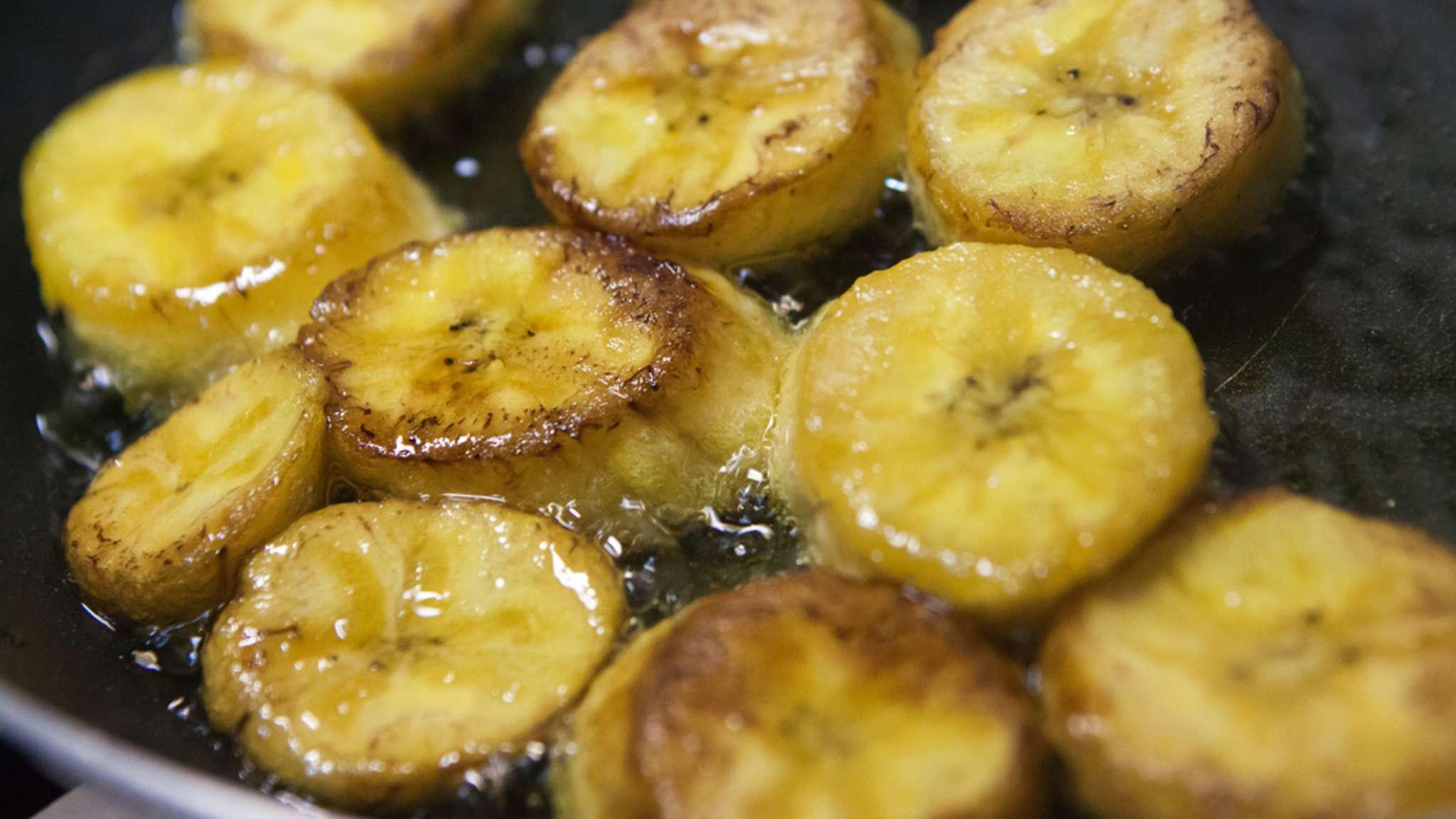 Banane plantain frite ou sautée