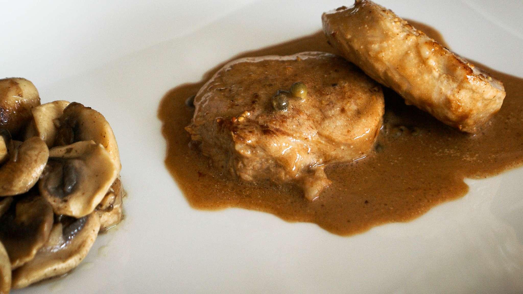 Le filet mignon, de porc ou de veau c'est selon...