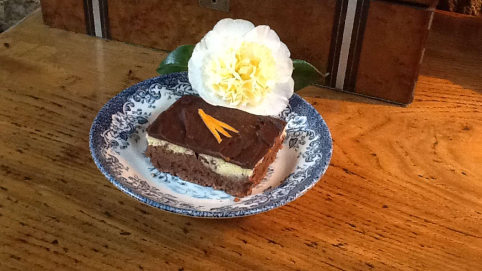Cheesecake chocolat, orange et Cointreau