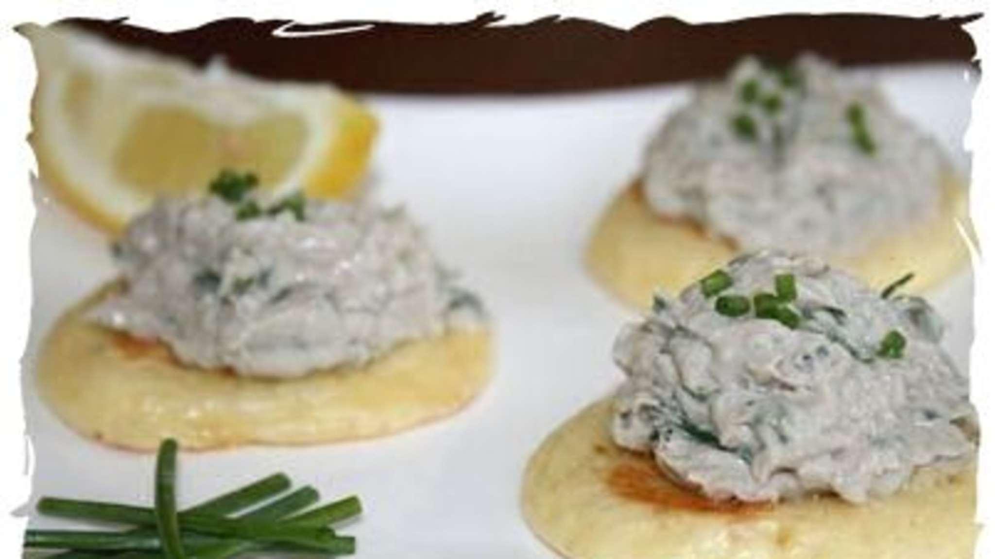 Rillettes de sardines fraîches à la ciboulette