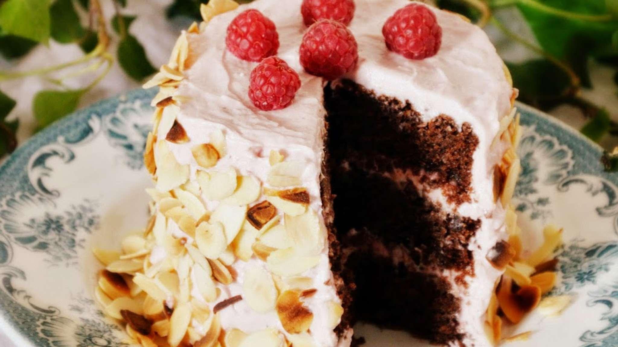Petit Layer Cake Chocolat Framboises