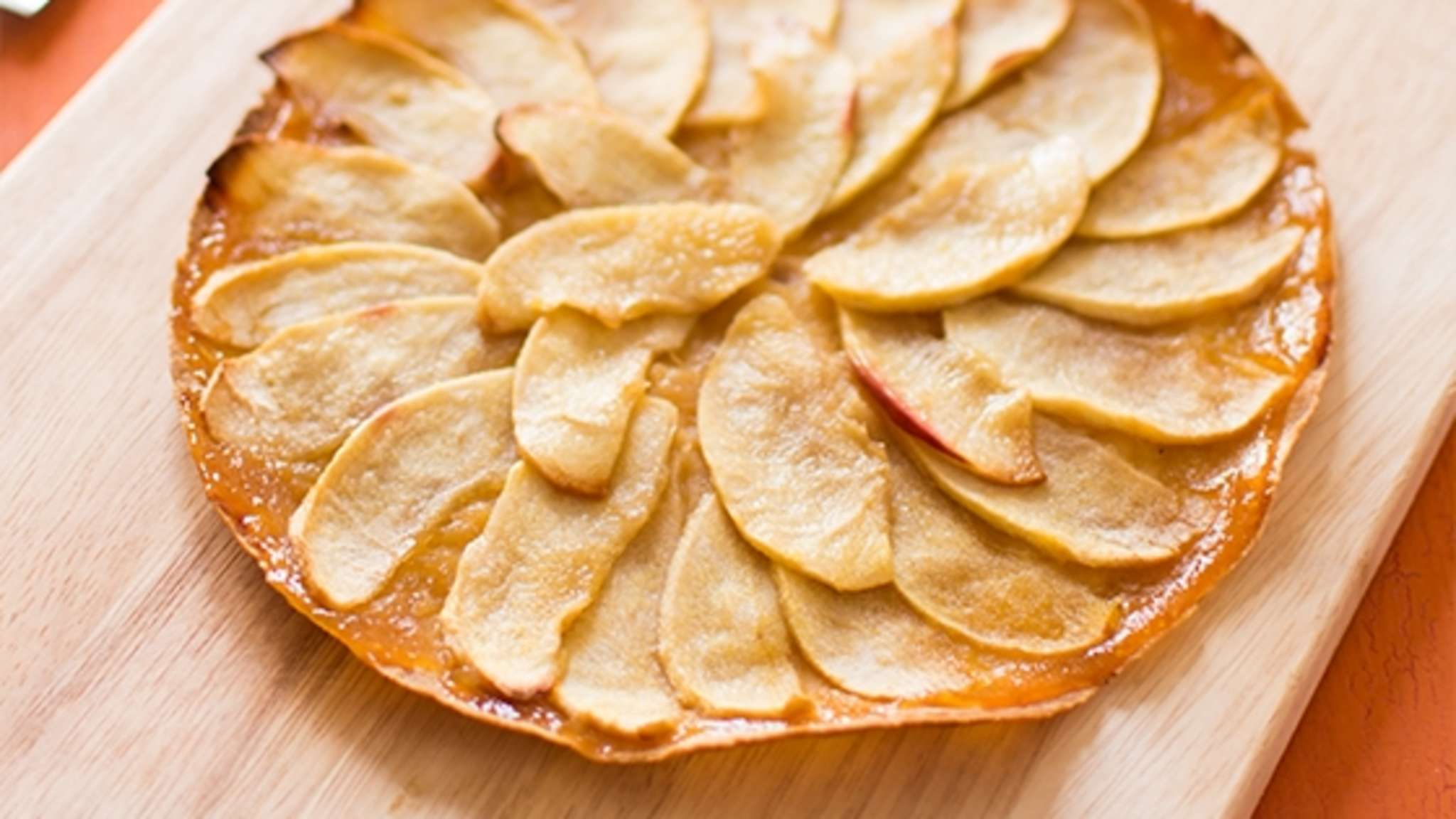 Tortilla-Tarte fine aux pommes