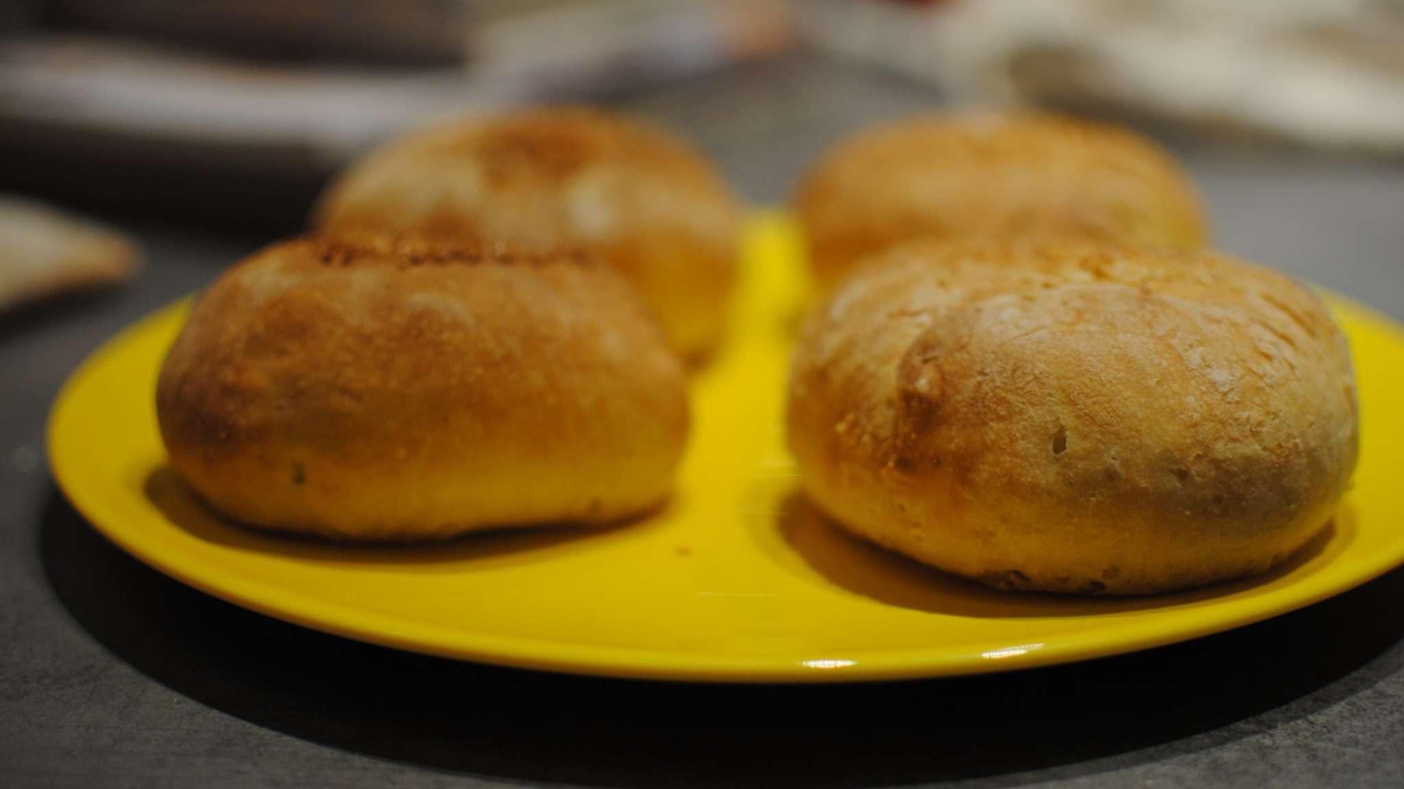 Petits pains au poulet