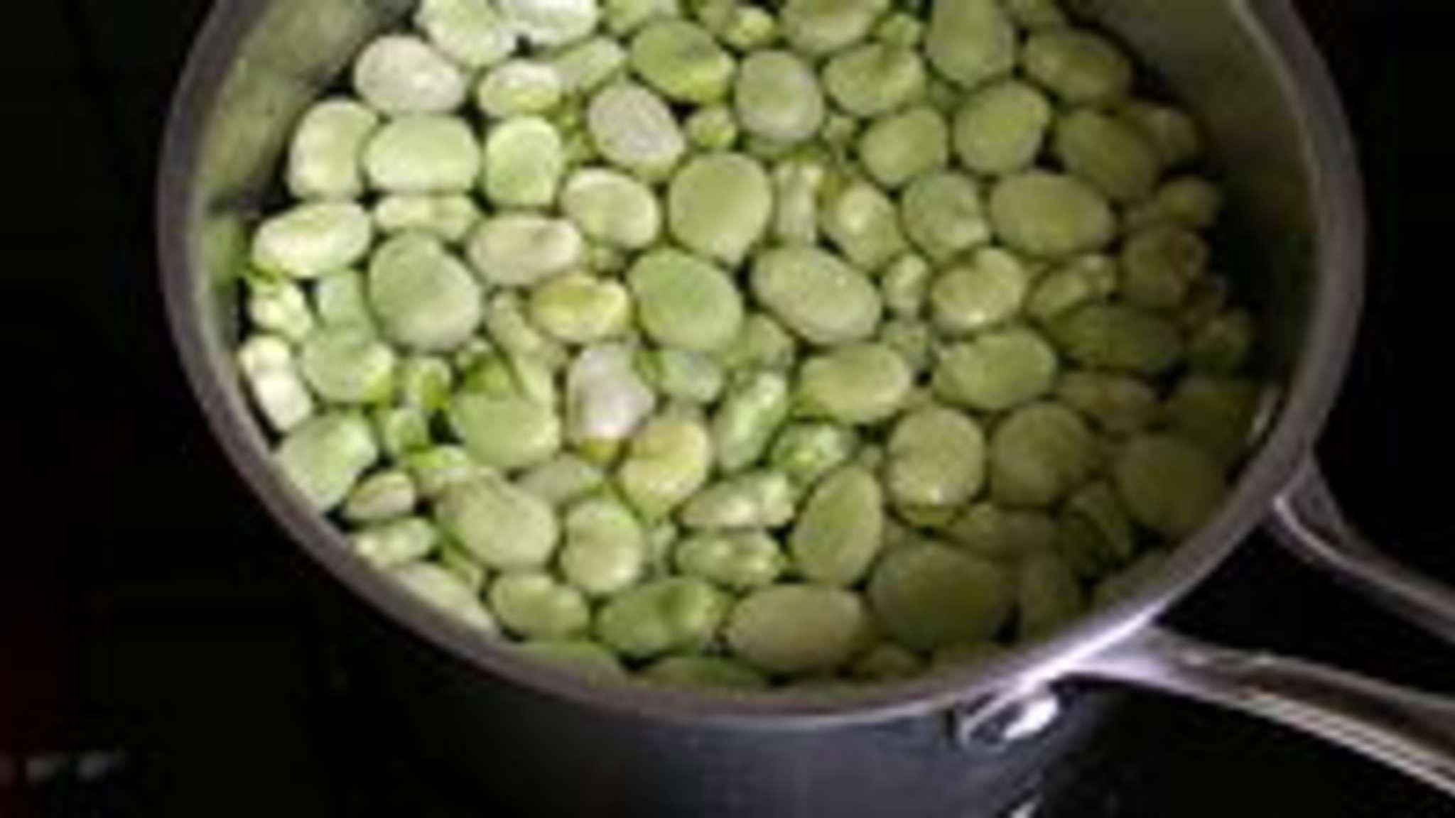 Cuisson des fèves