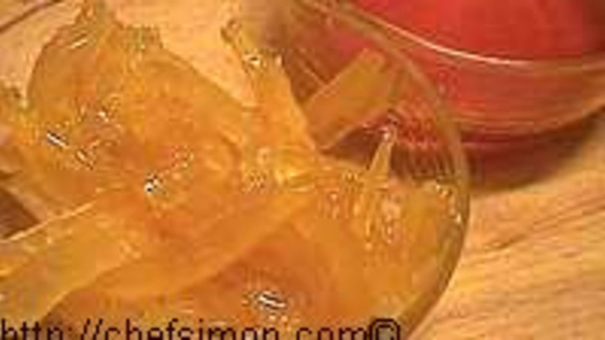 Caramel de fructose au pamplemousse