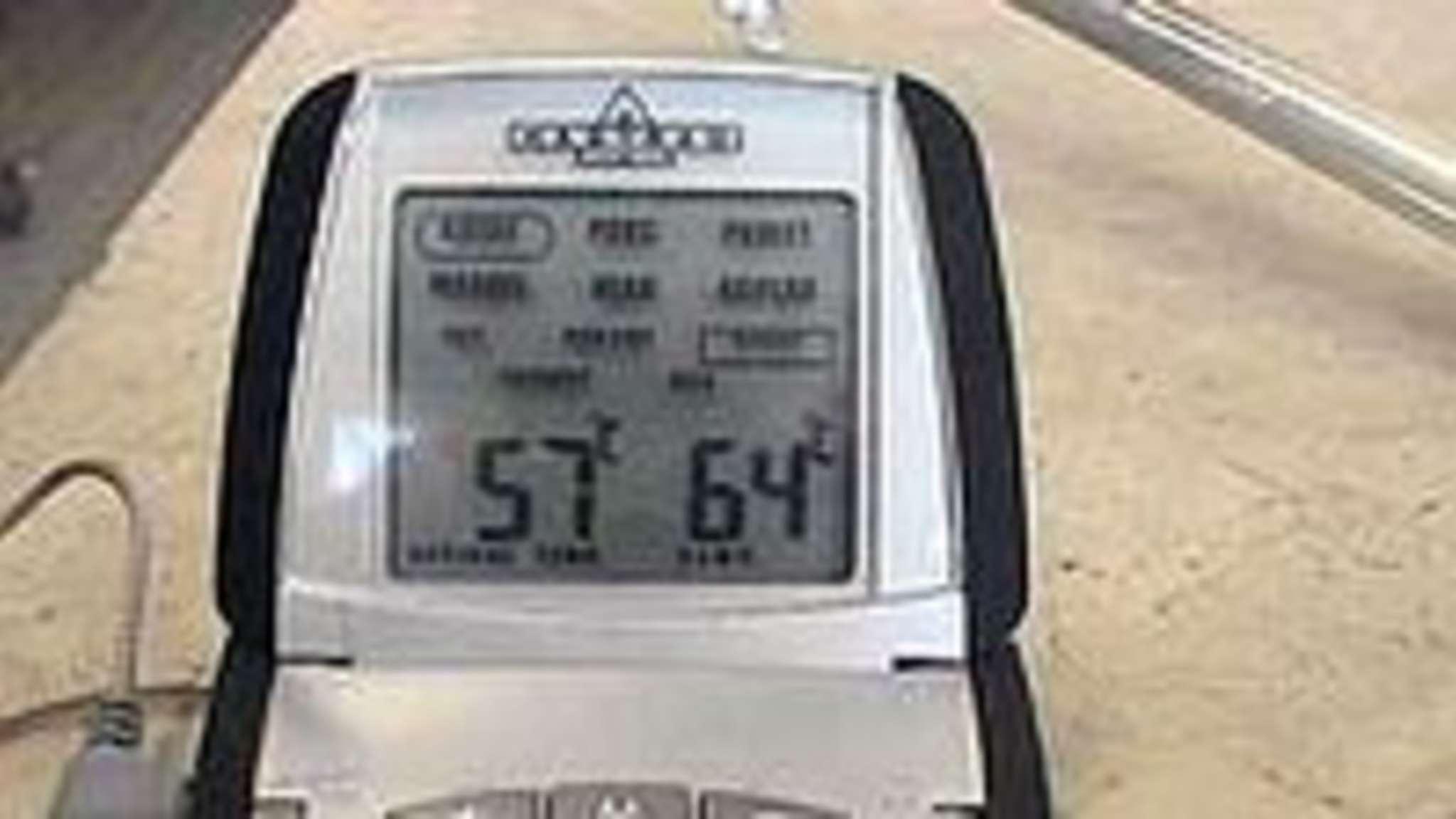Tableau indicatif des températures de cuisson à coeur