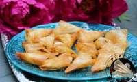 Triangles aux pommes et amandes