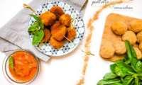 Falafels et sauce piquante