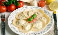 Ravioles au Boursin cuisine et au jambon cru