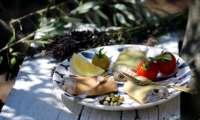 Paccheri farcies au beurre de sardines et câpres
