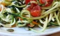 Spaghettis de Courgettes / Carottes en salade