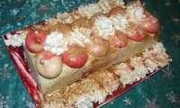 Bûche version cheesecake