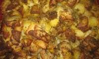 Gratin facile de pomme de terre au beurre et au thym