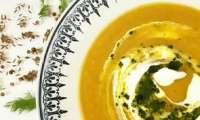 Soupe de carotte et fenouil rôtis aux épices douces