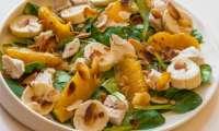 Salade de poulet aux oranges et aux bananes