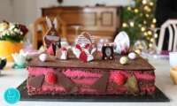 Opéra chocolat framboise