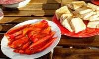 Poivrons rouges marinés comme en Italie