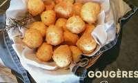 Gougères parmesan romarin