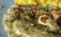 Agneau mariné à la coriandre et au miel, de Yotam Ottolenghi
