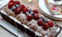 Cake aux Cranberries miel et cannelle