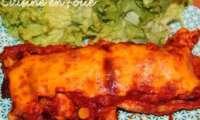 Enchiladas de poulet ou pur délice mexicain