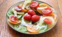 Carpaccio de tomates ultra facile