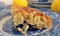 Gâteau au citron et aux myrtilles