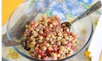 Salade de pois chiche Healthy