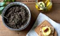 Salade de lentilles et chèvres marinés à l'huile d'olive