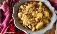 Ragout de pommes de terre et pois chiches au paprika fumé