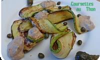 Courgettes au thon - Zucchine tonnate
