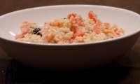 Salade de tempestines aux tomates, thon et crevettes