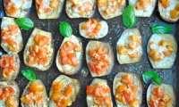 Rondelles d'aubergines au four