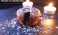 Fondant au chocolat avec son coeur au caramel