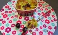 Nectarines et cerises se dorent sous la pistache