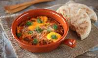 Tagine de Keftas aux Oeufs et Tomates