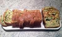 Cake au chèvre, saumon et brocolis
